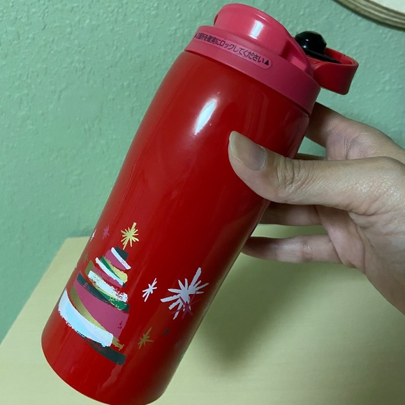 ⭐️ Starbucks Japan Holiday Red Stainless Tumbler